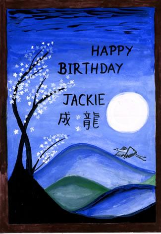 Happy Birthday Jackie ...